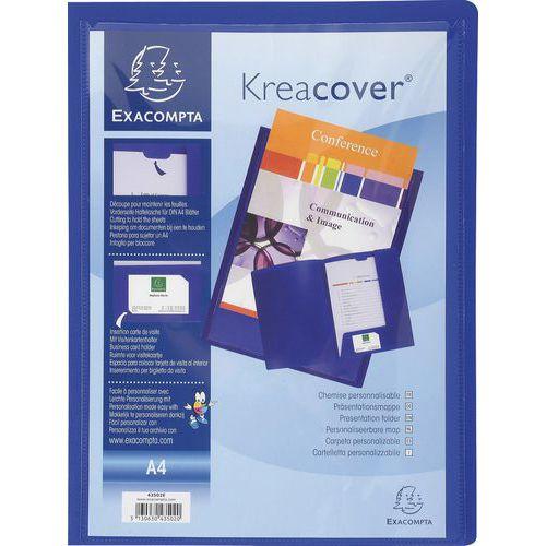 Funda plástica personalizable Kreacover - A4