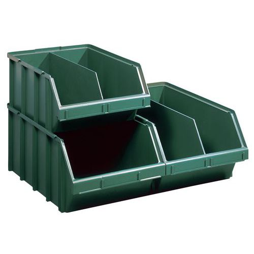 Caja con abertura frontal de gran formato y ensamblable - Longitud 700 mm - 90 L