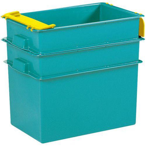 Caja apilable - Longitud de 590 mm a 805 mm - De 70 L a 200 L