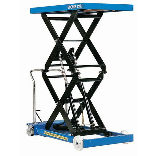Mesa elevadora móvil - Capacidad 800 kg
