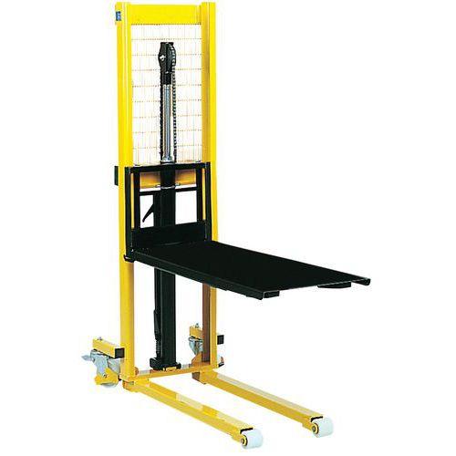 Plataforma extraíble para transpaleta - Carga 700 kg