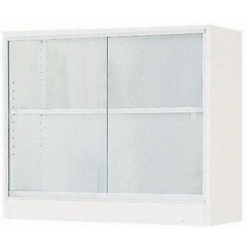 Armario de pared - Puertas correderas transparentes