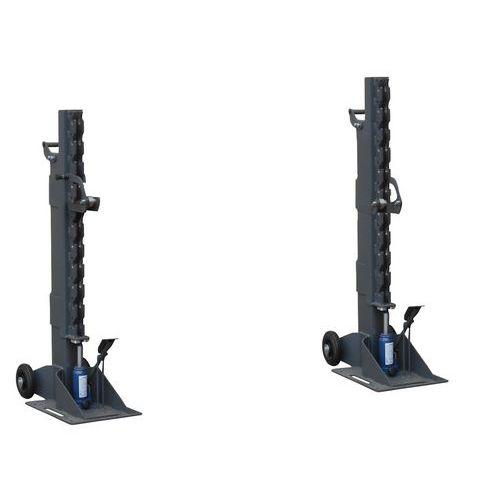 Soporte para carretes - Modelo hidráulico