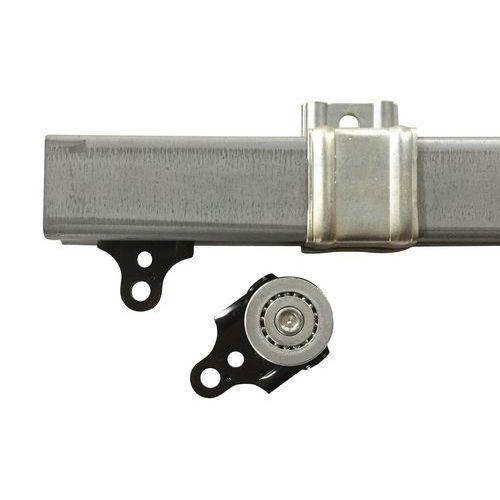 Riel para puerta de láminas flexibles - Metro lineal - Anchura 200 y 300 mm