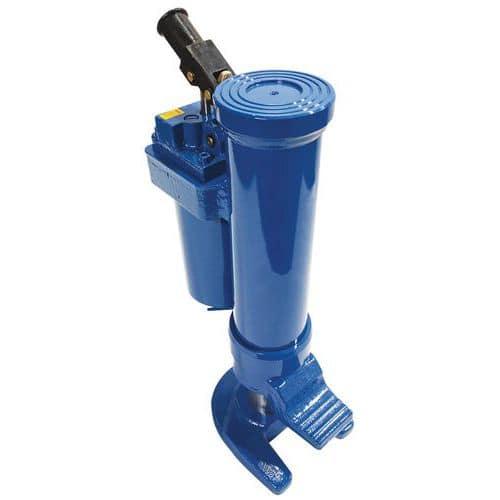 Gato hidráulico rodante - Capacidad de 5 a 25toneladas  - Manutan