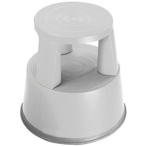 Escalerilla móvil polipropileno - 2 peldaños - Manutan