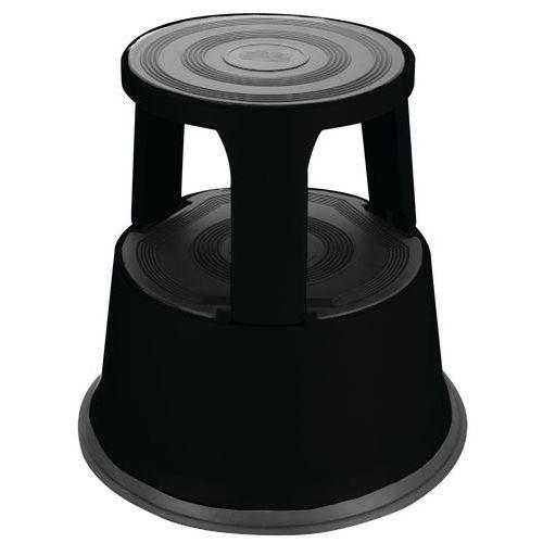 Escalerilla móvil de acero - 2 peldaños - Manutan