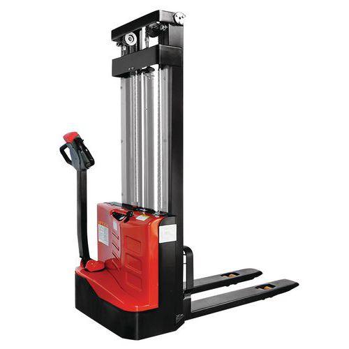 Apilador eléctrico ergonómico - Capacidad 1200 kg