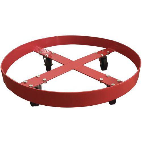 Ruedas para barriles - Capacidad 410 kg - Manutan