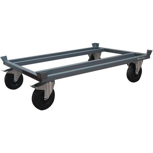Plataforma rodante para palés - Capacidad 500 a 1200 kg - Manutan