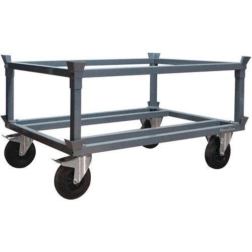 Plataforma alta en acero - Para palés - Manutan