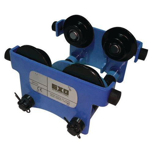 Carro portapolipastos de empuje - Capacidad de 250 a 5000 kg