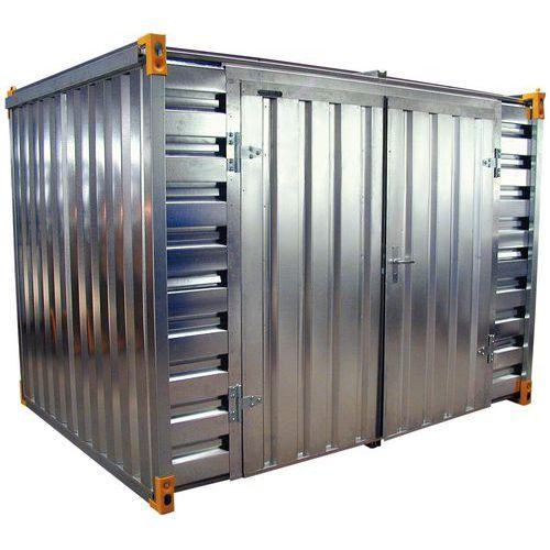 Caseta - Capacidad colectora 2.280 L - Apertura grande lateral