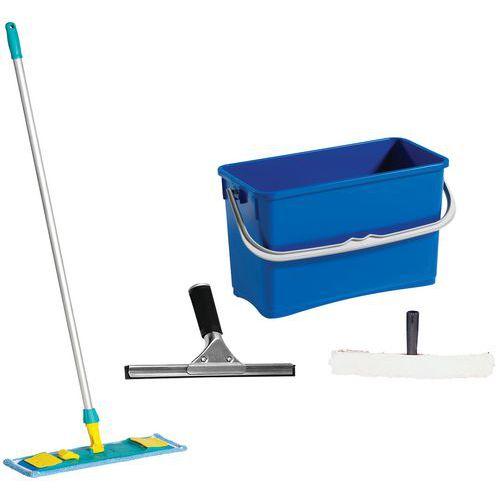 Escoba y accesorios de limpieza