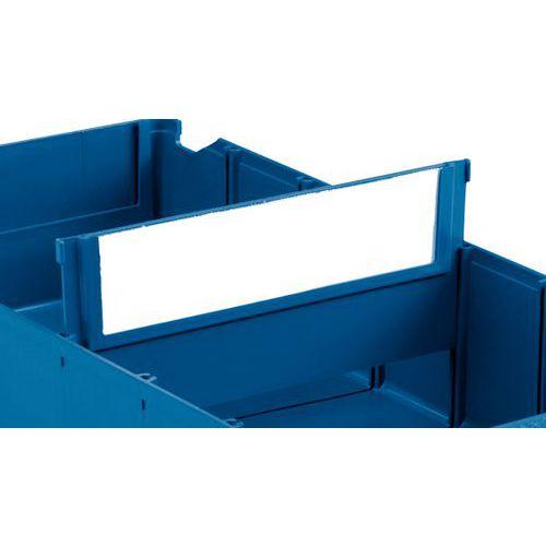 Separación transversal para cajas-cajones divisibles