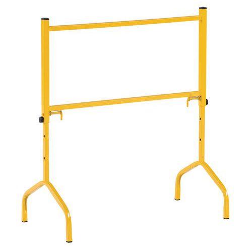 Caballete en acero amarillo - 175 kg