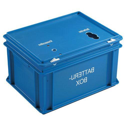 Caja para pilas - 20 L