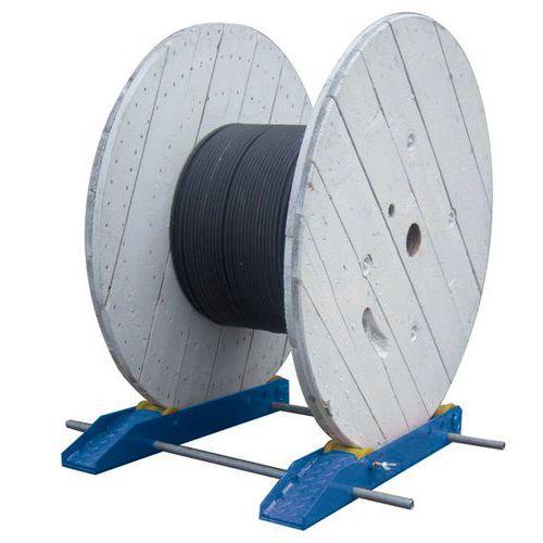 Soporte para carretes - Para cargas pesadas
