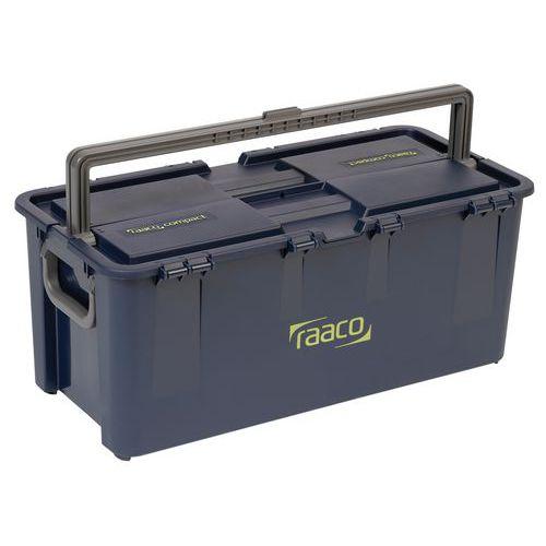 Caja de herramientas compacta - Con asa central y lateral
