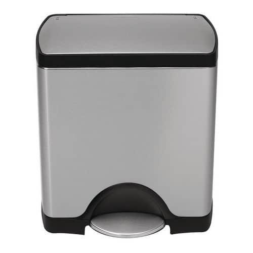 Papelera con pedal Simplehuman Rectangular  - 38 - 46 - 50 L