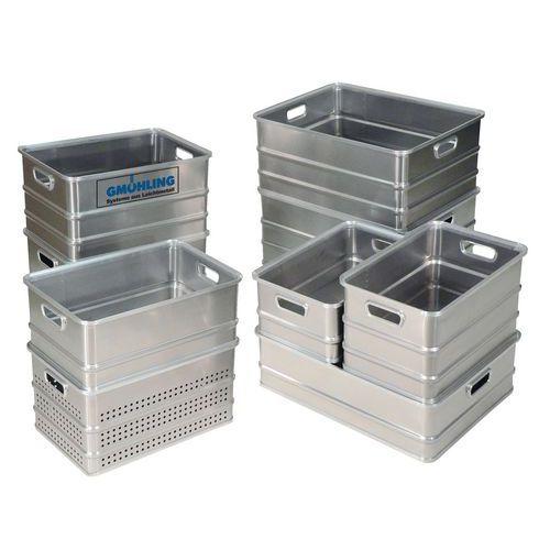 Caja de transporte aluminio - Longitud 650 mm