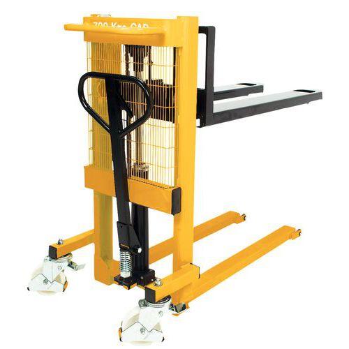 Apilador -   Longitud de la horquilla 1150 mm - Capacidad 700 kg