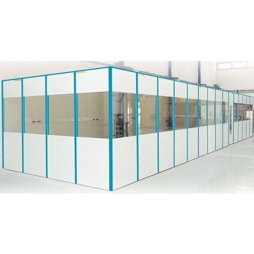 Cerramiento de tabique simple de melamina - Panel macizo - Altura 3,03 m