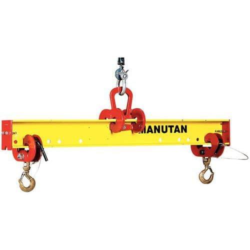 Balancín ajustable de 1 a 2 m - Capacidad de 1000 a 5000kg