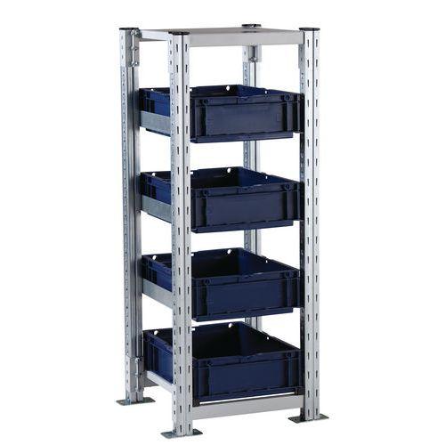 Estantería para cajas Europe Combi-Flex - Elemento de partida