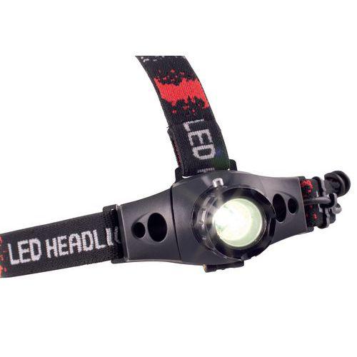 Linterna frontal LED CREE Q5 - 160 lm