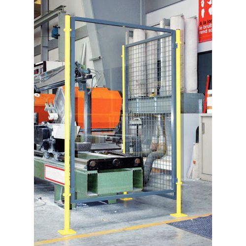 Cerramiento de protección para máquina - Panel acristalado - Altura 1,6 m