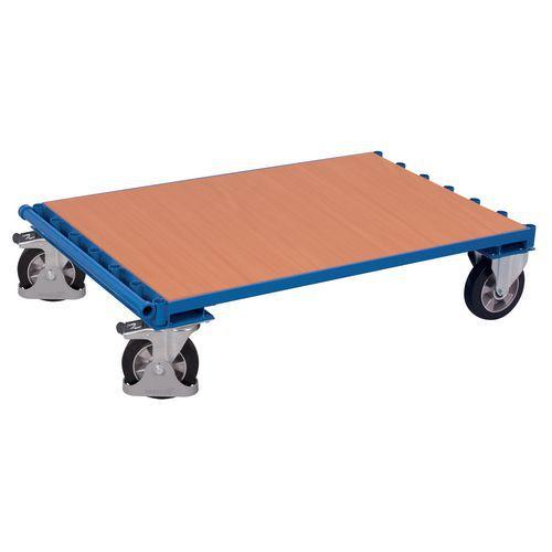 Carro portapaneles ergonómico sin adrales - Capacidad 1200 kg