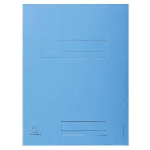Funda 2 solapas con marco de indexado Super 250 - Formato 24 x 32 cm