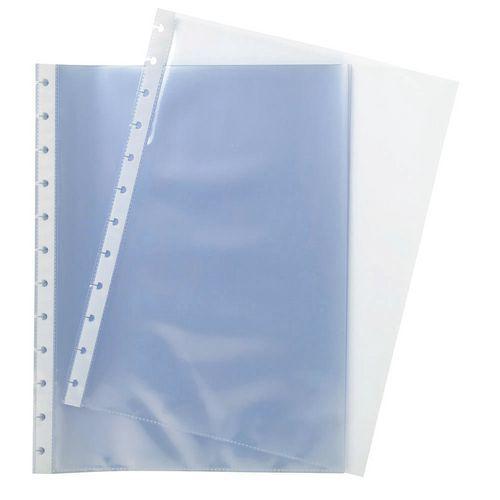 Funda perforada transparente A4 Exacompta - Lote de 10