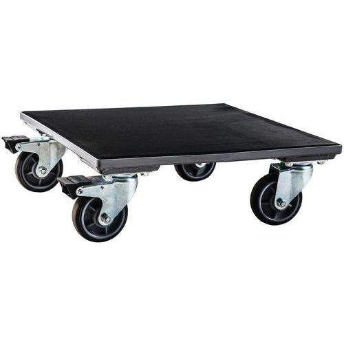 Plataforma rodante de madera - 500 kg - Manutan