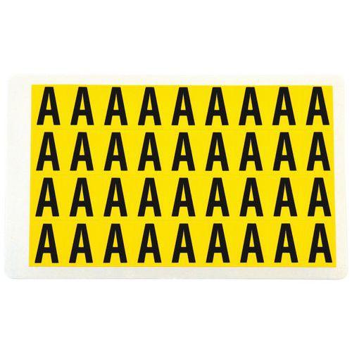 Etiquetas - Letras adhesivas - Manutan