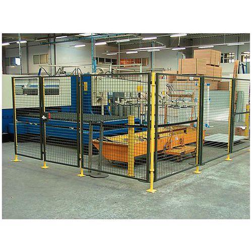 Cerramiento de protección para máquina - Panel de rejilla - Altura 1,6 m