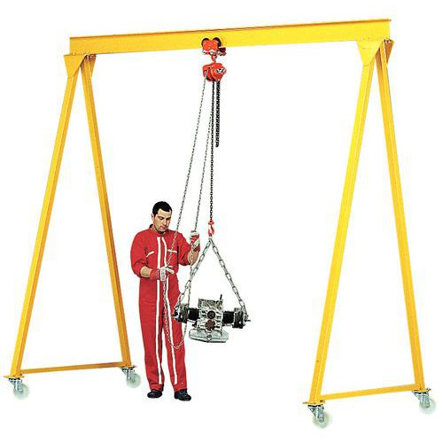 Pórtico para taller - Capacidad de 500 a 5000 kg - Altura 4 m