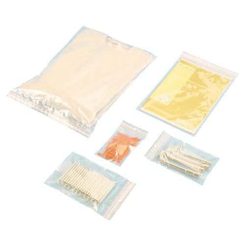 Bolsa de plástico Minigrip® de 60 micras - Estándar