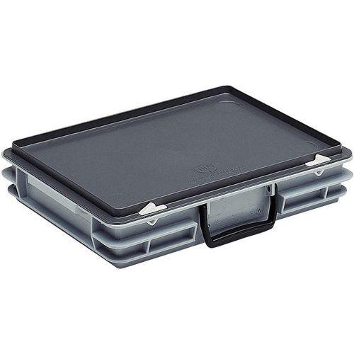 Caja-maletín Rako con tapa - Estándar - 300 mm de longitud