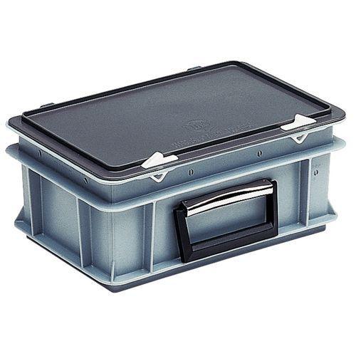 Caja-maletín Rako con tapa - Estándar - 400 mm de longitud