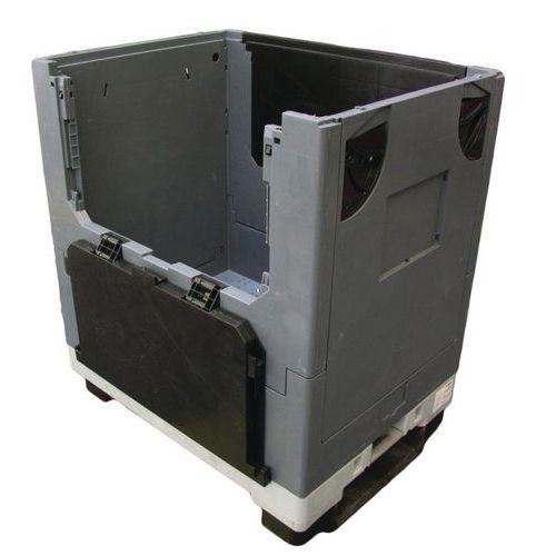 Caja-palé móvil plegable Pally Magnum® - 2 lados abatibles