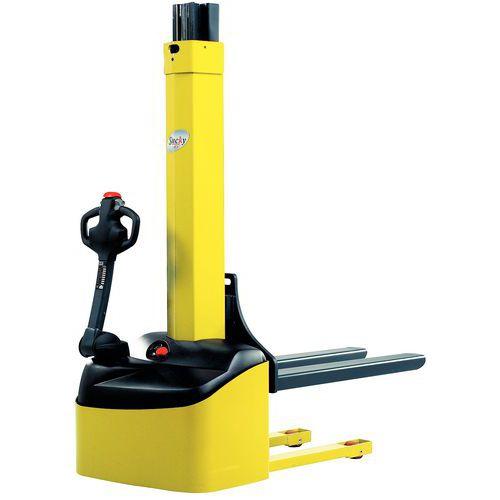 Apilador eléctrico ergonómico Stacky - Capacidad 1000 kg