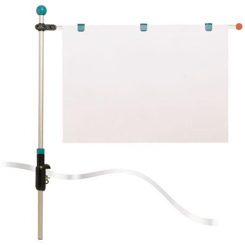 Sistema de presentación Hebel - Soporte para planos de mesa