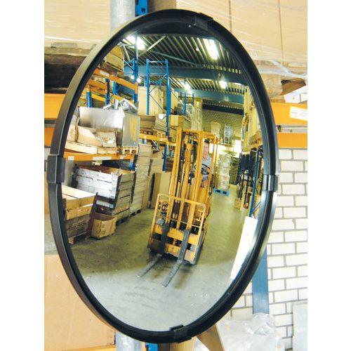 Espejo de seguridad - Visión 90° - Orientación hasta 30°- Redonda