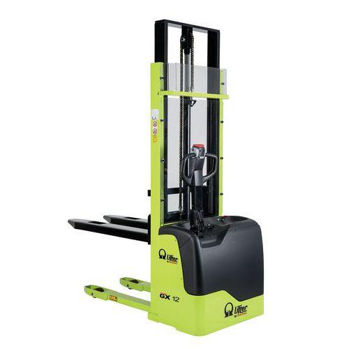 Apilador eléctrico GX Freelift - Capacidad 1200 kg