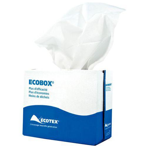 Bayeta no tejida Ecobox blanca