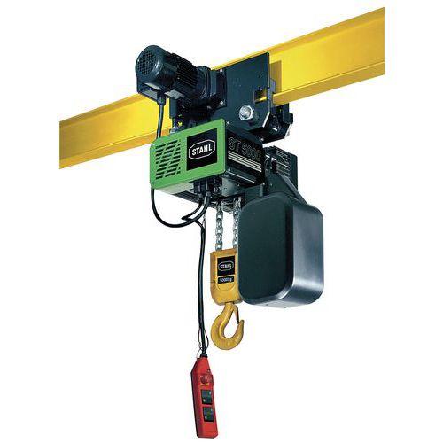 Polipasto eléctrico con carro manual - Capacidad de 1000 a 5000kg - Stahl CraneSystems