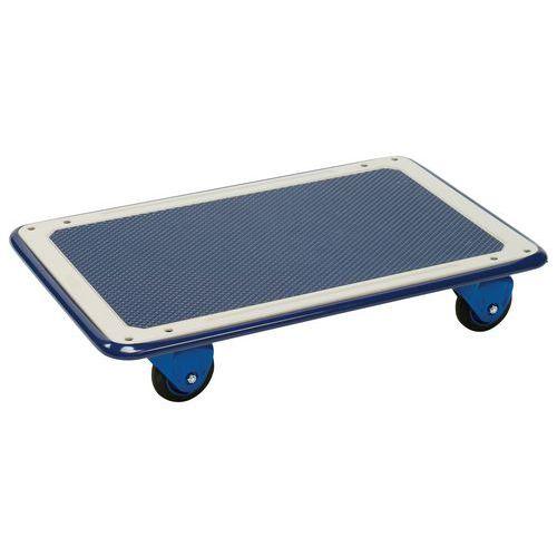 Plataforma rodante de acero - Carga 150 kg