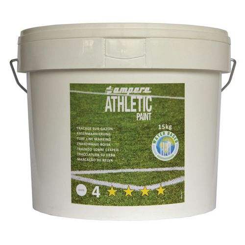 Pintura para césped sintético y natural - Ampere Athletic Paint® - Lata de 15 kg